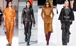 Как носить вещи из кожи правильно