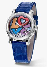 Любовь и граффити: яркие часы Chopard