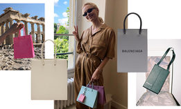 Маленькие сумки-пакеты — тренд этого лета и будущей осени