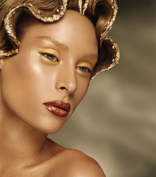 Gold Makeup Collection
