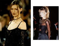 Модные прически супермоделей 1990-х