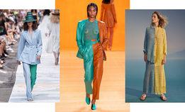 Контрастные половинки —тенденция Недели моды в Нью-Йорке