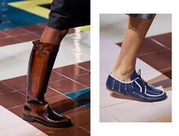 Обувь на шоу Prada весна-лето 2020