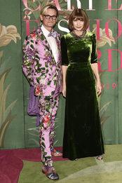 Гости премии Green Carpet Fashion Awards в Милане