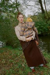 Ирина Мартыненко показывает, как молодой модной маме одеваться за городом осенью