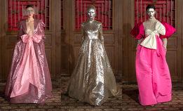Как прошел показ Valentino Haute Couture в Пекине