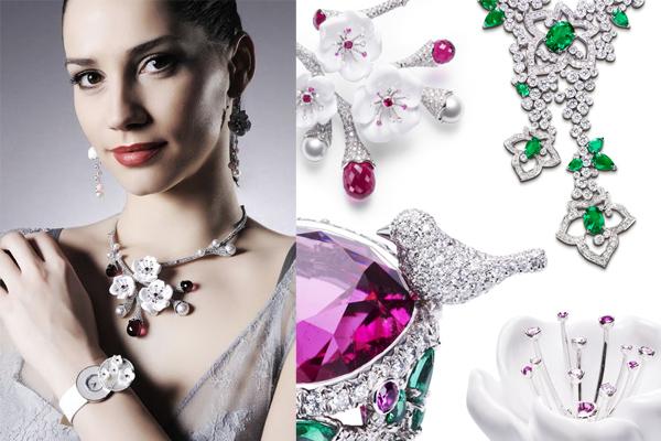 Рекламная фотосъемка ювелирных изделий с драгоценными камнями и бриллиантами