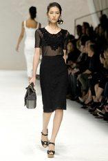 moda 2011 новости моды фото DOLCE&GABBANA WOMAN FASHION SHOW SUMMER 2011...