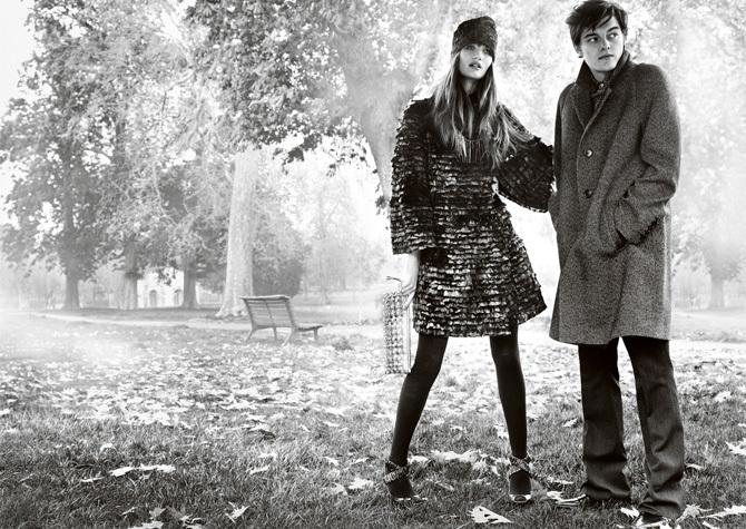 Burberry / Рекламная кампания осень-зима 2008/09